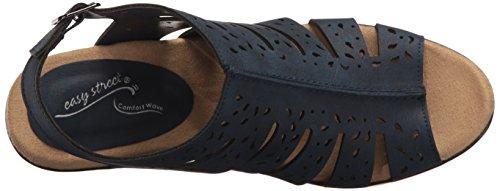 Easy Street Kamber Breit Synthetik Sandale Navy
