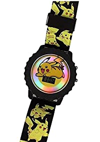 Pokemon Pikachu Kids Light-Up Watch