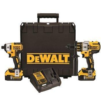 Dewalt Dck296p2 20v Xr Brushless Hammerdrill & Impact Driver