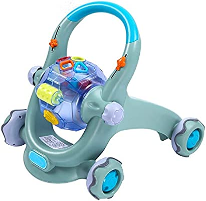 BGROESTHE Andador Interactiva Actividad del bebé Walker ...
