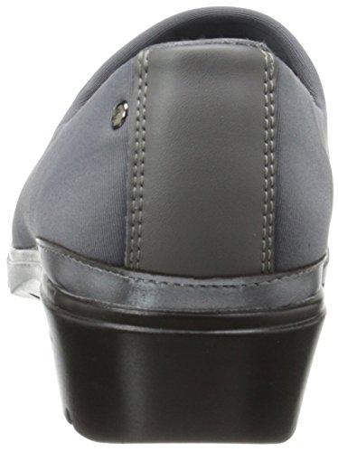 Skechers de la mujer de piel hombre gris oscuro
