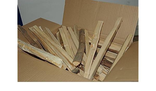 Pequeña leña para encender artesanal y natural en latas de 8 ...