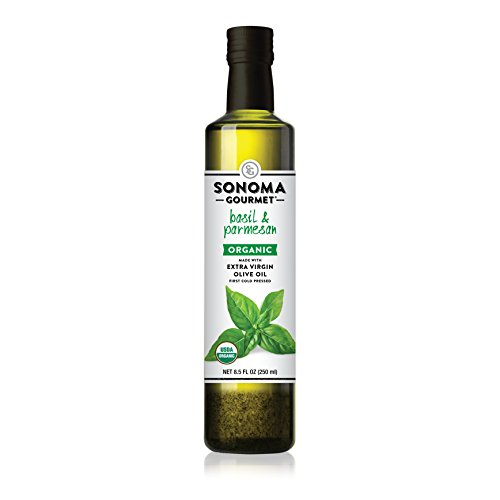 Olive Oil Case (Sonoma Gourmet, Basil & Parmesan Olive Oil, Quantity - 1 case (pack of 6))