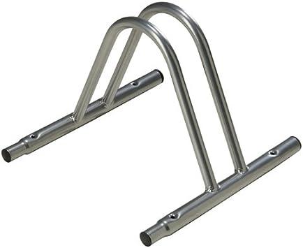 Wolfpack 5411220 - Soporte Para Bici Suelo Individual Modular, color metalizado