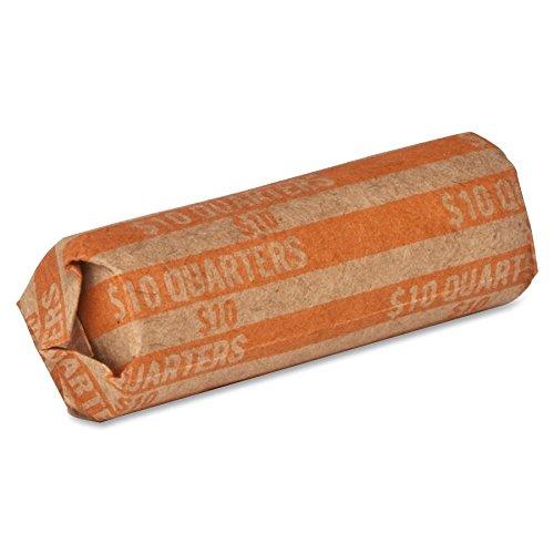 Coin Wrapper, 60 lb., Quarters, 10.00, 1000/Box, - Roll Quarter