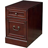 Martin Furniture Mount View Mobile File Cabinet - Fully Assembled