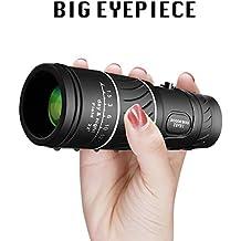 VOCH Monocular Telescope, 10X40 High Power Dual Focus Prism Film Optics, Monocular Scope for Bird Watching/Hunting/Camping/Hiking/Golf/Concert/Surveillance