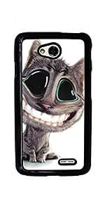 Kitten Cat Pet Cute Hard Case for LG Optimus L70 ( Sugar Skull )