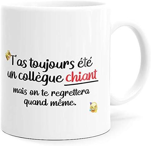 Mug Humour Collègue Tasse Mess…