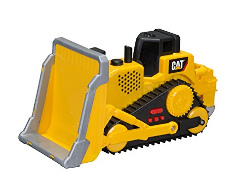 Cat Bulldozer - Toy State CAT Big Builder Bull Dozer Lands Shaking (Styles May Vary)