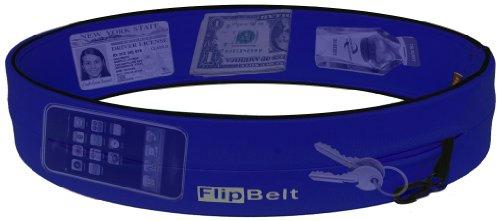 FlipBelt Level Terrain Waist Pouch, Royal Blue, X-Small/22-25 by FlipBelt (Image #1)