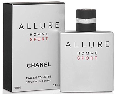 Chânêl Allure Homme Sport Eau De Toilette Spray for Men, EDT 3.4 Ounces 100 - Chanel Men In