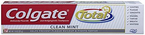 Dentifrice Colgate Total, Menthe Coller 7,8 oz (Pack de 6)