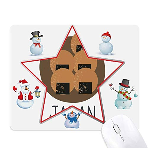(Traditional Japanese Local Snack Christmas Snowman Family Star Mouse)