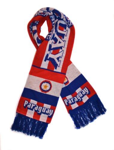Paraguay National Soccer Team | Premium Soccer Fan Scarf | Ships from USA (Paraguay National Soccer Team)