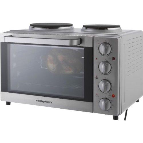 St//Steel. Morphy Richards MG25BHF Rotisserie Mini Oven