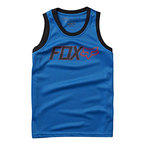 Fox - Boys Youth Change Jersey, Size: Large, Color: Blue - Fox Racing Sleeveless Jersey