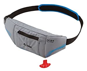 Onyx M-24 Manual Inflatable Belt Pack Life Jacket, Gray