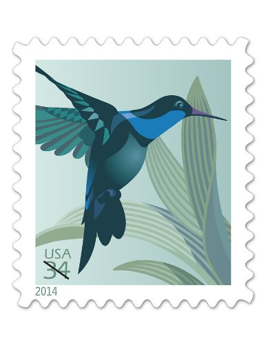 Cent Booklet (USPS Hummingbird 34 Cent Postage Stamps Booklet of 20 NEW)
