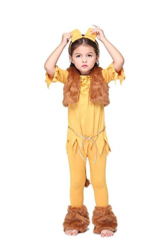 [NonEcho Lion King Halloween Costumes for Children, Kids, Boys & Girls (X-Large)] (Miss America Costume 2016)
