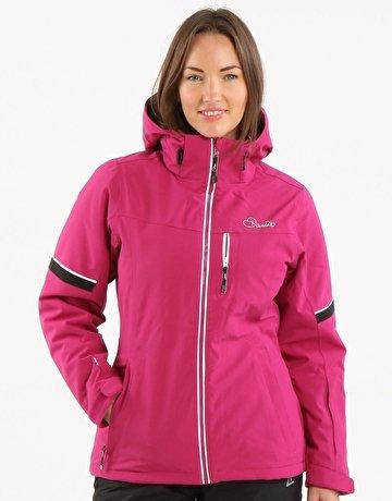 Damen Dare 2b Dulcet Ski Jacke Blau Rose Schwarz