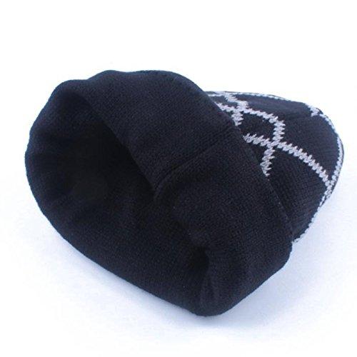Black rojo exterior sombreros Halloween caliente caps sombreros negro cabeza sombreros hombres tejidos Los Navidad seccionados beanie MASTER mujeres Ta1wxnzBBq
