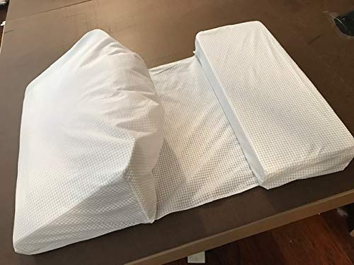 Shoulder Pillow - Relieves Shoulder Pain Due to surgeries, Arthritis, tendonitis, etc. - for Side Sleepers (Best Pillow For Numb Arms)