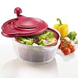 Westmark Fortuna Salad Spinner, Red 24322260