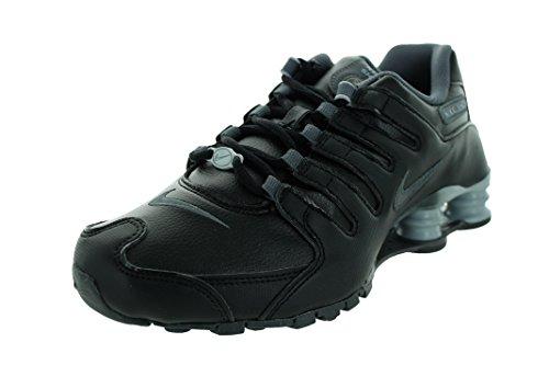 Nike Women's Shox NZ EU Black/Dark Grey/Wolf Grey Running Shoe 8 Women US