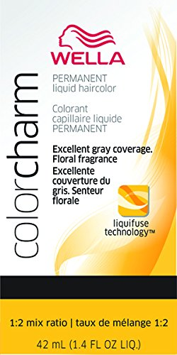 Wella Color Charm Liquid Permanent Hair Color - #9Ng - Sand Blonde 1.42 oz. (Pack of 2)