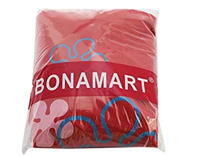 BONAMART Strawberry Reusable Shopping Tote Bag Foldable With Pouch, Wholesale Lots 10 Assorted Colors Eco Cute Expandable Shoulder Grocery Bags