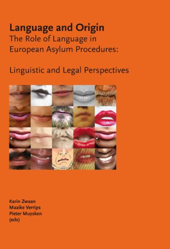 Language and Origin: The Role of Language in European Asylum Procedures: Linguistic and Legal Perspectives by Wolf Legal Publishers