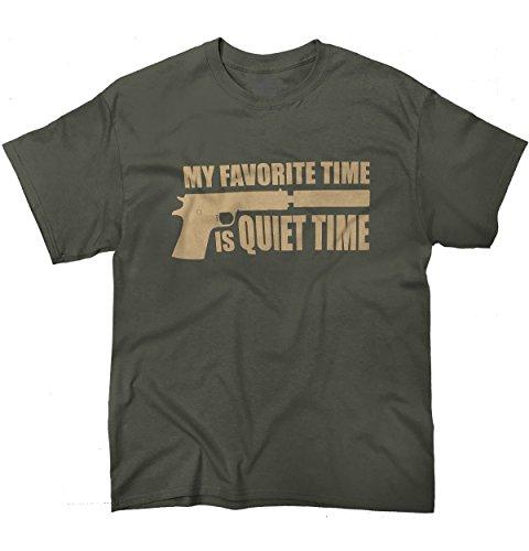 Quiet Time 2nd Amendment Tactical Gear Shirts for Women Gift T-Shirt Tee