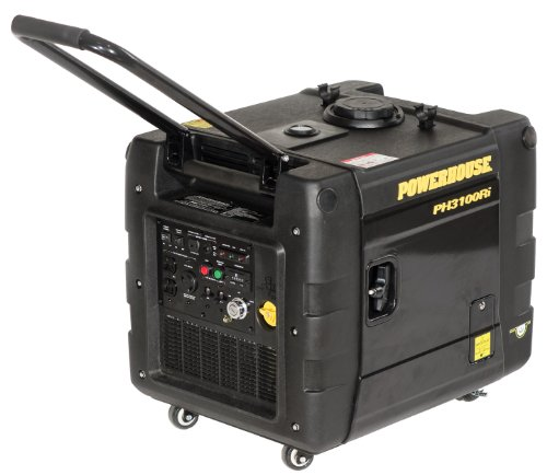 3000 Running Watts/3100 Starting Watts, Gas Powered Portable Inverter, CARB Compliant - Powerhouse PH3100RI