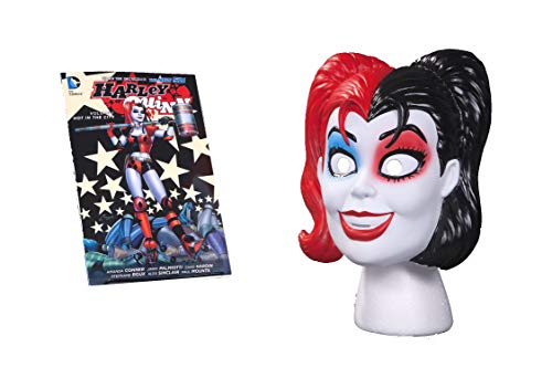 Harley Quinn Book & Mask