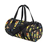 EVERUI Sports Warrior Boxing MMA BJJ Gear Gym Duffel Travel Backpack Bag for Adults Kids