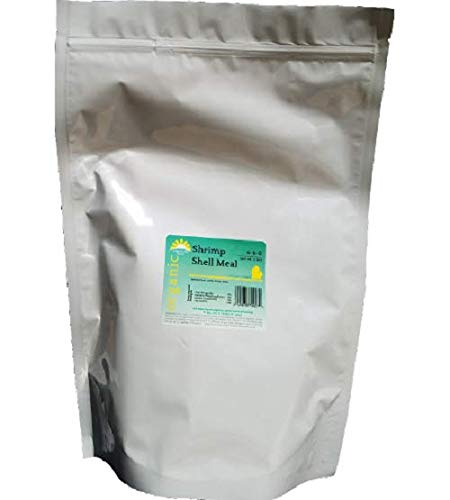 (Organically Done - Shrimp Shell Meal (6-6-0) 5 lbs - Nitrogen Phosphorous Calcium Chitin Fertilizer Organic Plant Amendment)