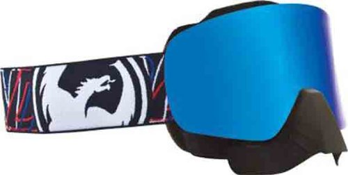 NFX Dragon Snowmobile Goggles Overlap/blue Steel by Dragon Alliance