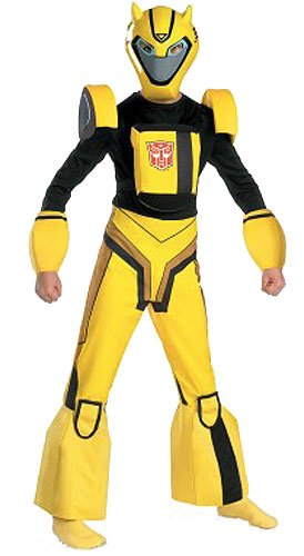 Bumblebee Cartoon Deluxe Child Costume - Medium