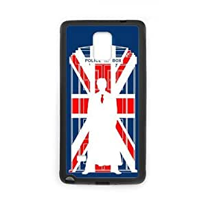 the Case Shop- Tardis Doctor Who Police Box TPU Rubber Hard Back Case Silicone Cover Skin for SamSung Galaxy Note4 , n4xq-552