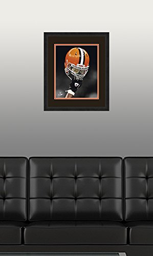 NFL Cleveland Browns, Beautifully Framed and Double Matted, 18