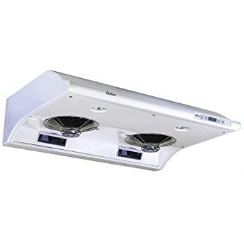 Cyclone CY1011R-SS 680CFM High-Powered Under-Mount Range Hood Classic Collection 30 Stainless Steel