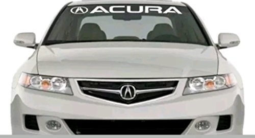 GY Vinyl Arts,Windshield,Decal,Car,Sticker,Banner,Graphics,Compatible with,Acura,Cars