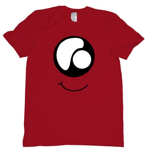 Monster Eye Tee Shirt Mens M red U]()