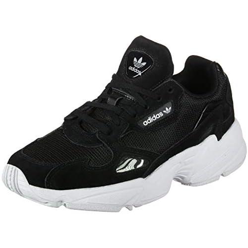 chollos oferta descuentos barato adidas Falcon W Running Shoe Mujer Core Black Core Black Footwear White 40 EU