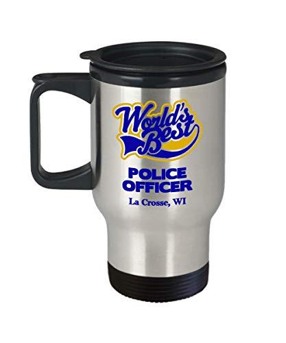 "Police Officer Travel Mug:""Best Police Officer In La for sale  Delivered anywhere in USA"