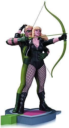 DC Collectibles Green Arrow & Black Canary Statue (Justice League Black Canary And Green Arrow)