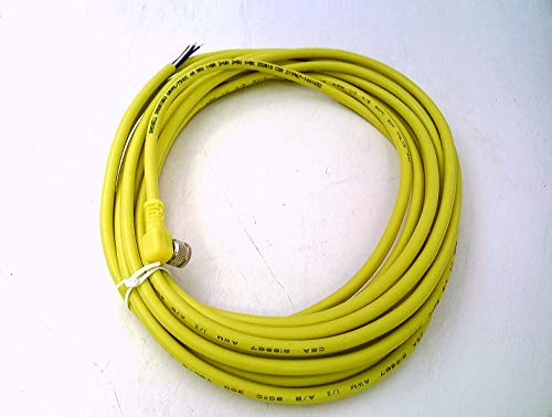 RADWELL VERIFIED SUBSTITUTE PKW 4M-6-SUB Cord Set PVC 4-PIN 6 Meters Right Angle Yellow M8 PICO Female