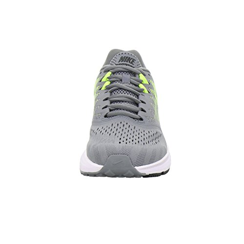 Pictures of NIKE Men's Air Zoom Span 2 908990 Grey/Black/Volt 4