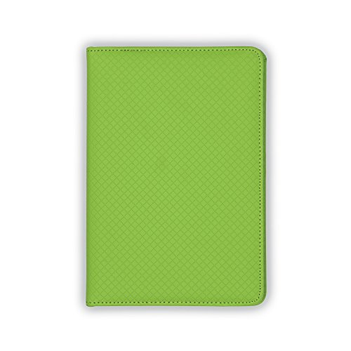 Padfolio Green (Samsill Fashion Portfolio for Women, Diamond Deboss Design, Junior Size Writing Pad, 5 x 8 inches (Lime Green))